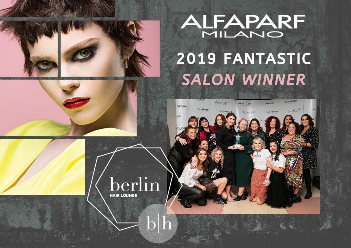 Berlin Hair Lounge alfaparf milano fantastic salon winner 2019